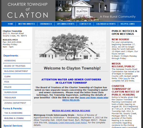 Clayton Township