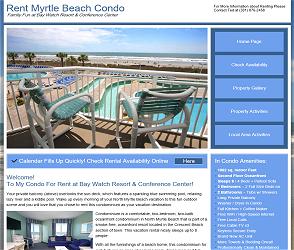 Rent Myrtle Beach Condo