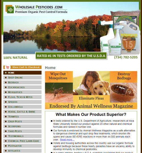 Wholesale Pesticides